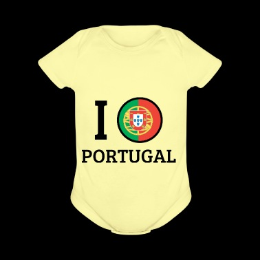 I love Portugal - Short Sleeve Baby Bodysuit