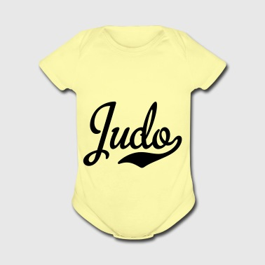 2541614 15439082 judo - Short Sleeve Baby Bodysuit