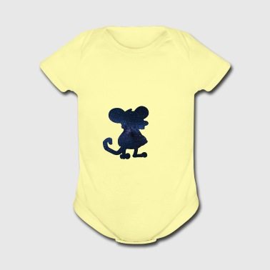 mouse - Short Sleeve Baby Bodysuit