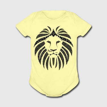 African Lion - Short Sleeve Baby Bodysuit