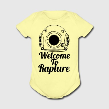 Welcome to Rapture - Short Sleeve Baby Bodysuit