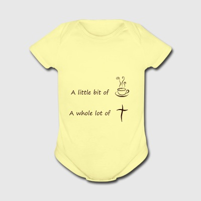 coffee4 - Short Sleeve Baby Bodysuit