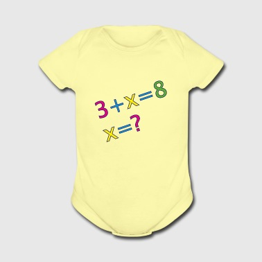 mathematics - Short Sleeve Baby Bodysuit