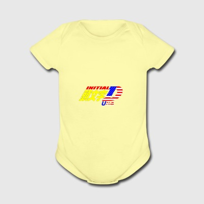 Initial D USA - Short Sleeve Baby Bodysuit