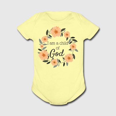 Child of God - Short Sleeve Baby Bodysuit