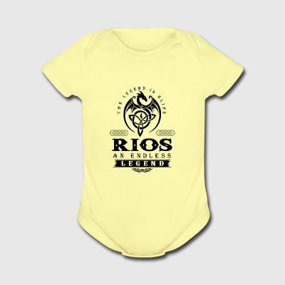 RIOS - Short Sleeve Baby Bodysuit