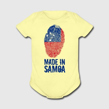 Made In Samoa - Short Sleeve Baby Bodysuit