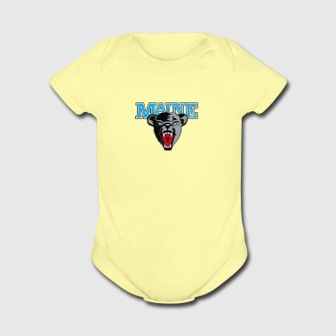 Maine Black Bears Premier - Short Sleeve Baby Bodysuit