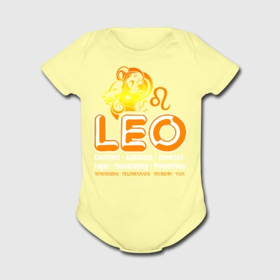 Leo Tee Shirt - Short Sleeve Baby Bodysuit