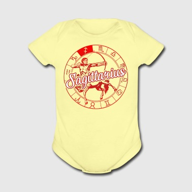 Sagittarius Awesome Shirt - Short Sleeve Baby Bodysuit