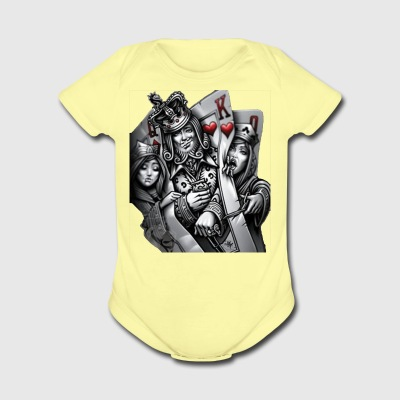 card poker - Short Sleeve Baby Bodysuit