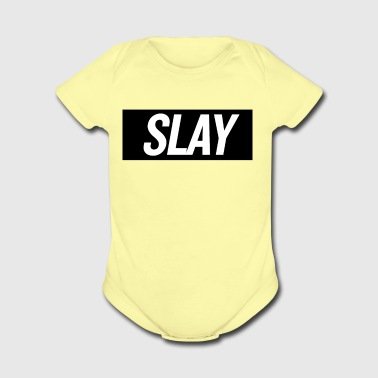 Slay 2 - Short Sleeve Baby Bodysuit