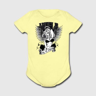 City Of Angels - Short Sleeve Baby Bodysuit