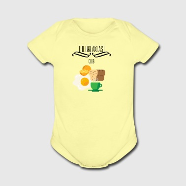 Breakfast club - Short Sleeve Baby Bodysuit