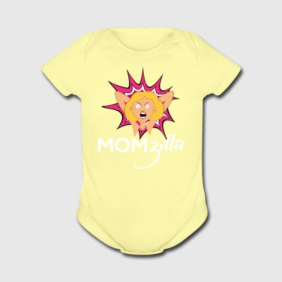 Crazy Mom T Shirt Momzilla Mother Tee - Short Sleeve Baby Bodysuit