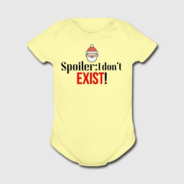 Santa doesn't exists - Short Sleeve Baby Bodysuit