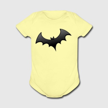 bat - Short Sleeve Baby Bodysuit