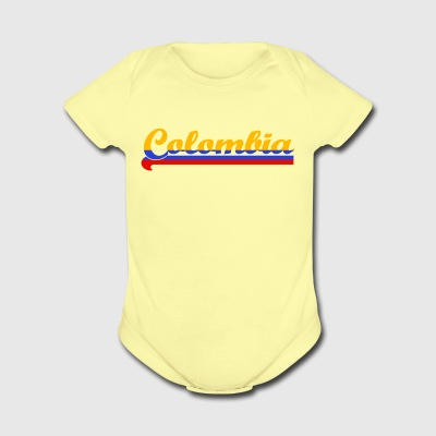 Colombia - Short Sleeve Baby Bodysuit