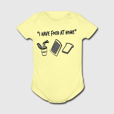 Food AT Home - Short Sleeve Baby Bodysuit