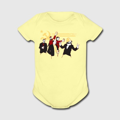 The Communist Party - Short Sleeve Baby Bodysuit