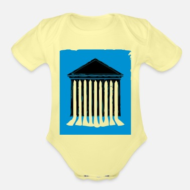 Court court - Organic Short-Sleeved Baby Bodysuit