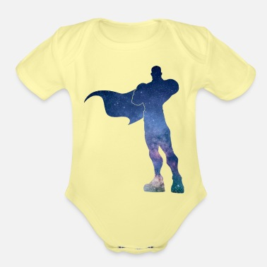 Winner Galaxy Hero - Organic Short-Sleeved Baby Bodysuit
