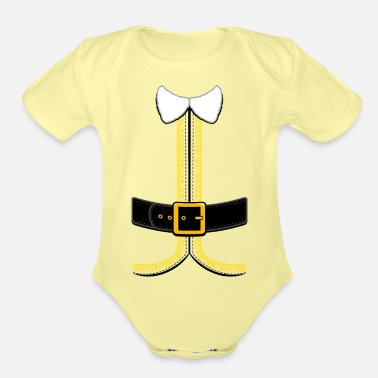Elf Christmas Elf Costume for Kids and Adults - Organic Short-Sleeved Baby Bodysuit