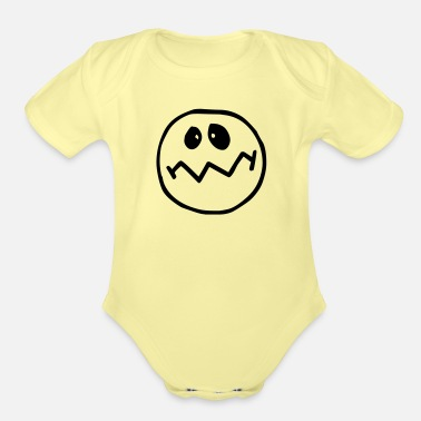 Emotion emotion - Organic Short-Sleeved Baby Bodysuit