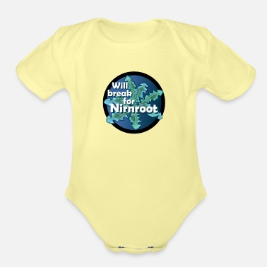Aggressive Aggressive Natural - Organic Short-Sleeved Baby Bodysuit