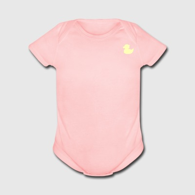 DuckieYellow - Short Sleeve Baby Bodysuit