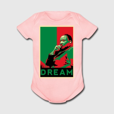 MLK - Short Sleeve Baby Bodysuit