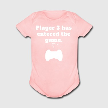 Player 3 Has Entered The Game Video Games - Short Sleeve Baby Bodysuit