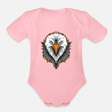 American Eagle American Eagle Head - Organic Short-Sleeved Baby Bodysuit