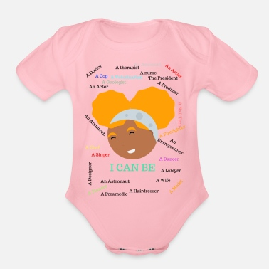 Andrew Keresa The Dreamer - Organic Short-Sleeved Baby Bodysuit