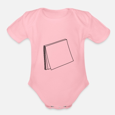 Post Post it - Organic Short-Sleeved Baby Bodysuit