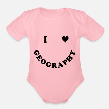 Geography GEOGRAPHY - Organic Short Sleeve Baby Bodysuit