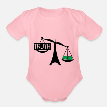 Truth the truth - Organic Short-Sleeved Baby Bodysuit