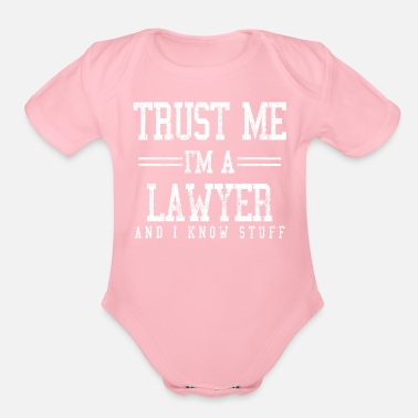 Lawyer Lawyer - Organic Short Sleeve Baby Bodysuit