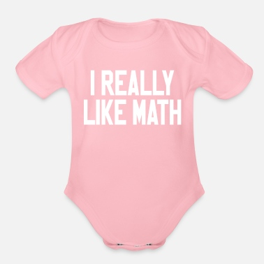 Maths Teacher Math math teacher - Organic Short Sleeve Baby Bodysuit