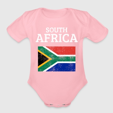 South Africa - Organic Short Sleeve Baby Bodysuit