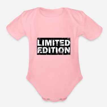Edition Limited Edition - Organic Short-Sleeved Baby Bodysuit