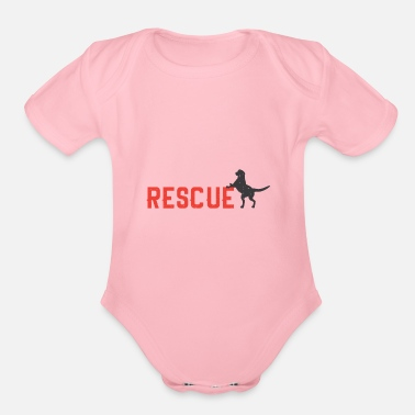 Rescue Rescue - Organic Short Sleeve Baby Bodysuit