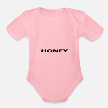 Honey Honey - Organic Short Sleeve Baby Bodysuit