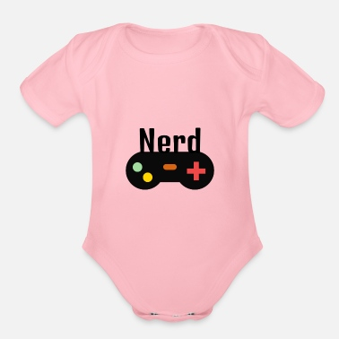 Gamer Gamer - Organic Short Sleeve Baby Bodysuit