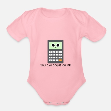 You Can Count On Me You can count on me v2 - Organic Short-Sleeved Baby Bodysuit