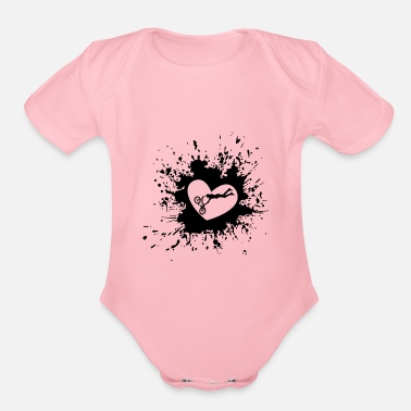 Bmx BMX - Organic Short-Sleeved Baby Bodysuit