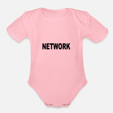 Networking Network - Organic Short Sleeve Baby Bodysuit