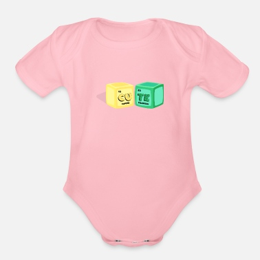 Genius CUTE - Organic Short-Sleeved Baby Bodysuit