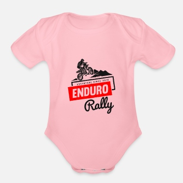 Enduro Enduro - Organic Short-Sleeved Baby Bodysuit