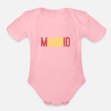 Madrid Madrid - Organic Short Sleeve Baby Bodysuit